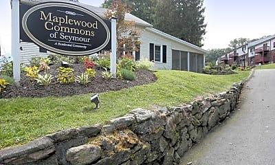 Community Signage, Maplewood Commons of Seymour, 2