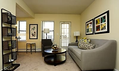 Living Room, Clemens Place Apartments, 0
