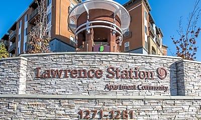 Community Signage, Lawrence Station, 1