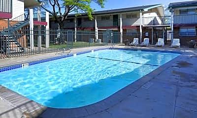 Pool, University Club Apartments, 0