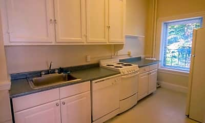 Kitchen, Princeton on Beacon Street, 1