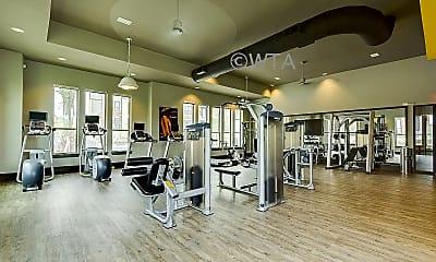 Fitness Weight Room, 5002 Wiseman Blvd, 1