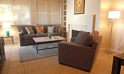 Living Room, 7700 E Gainey Ranch Rd 104, 1