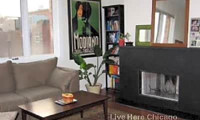Living Room, 1355 W Augusta Blvd, 1