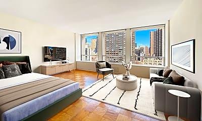 Living Room, 300 E 33rd St 19-G, 0