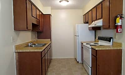 Kitchen, Lyman Manor and Village Rental Office, 2