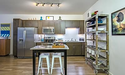 Kitchen, Denizen Apartments & Townhomes, 1
