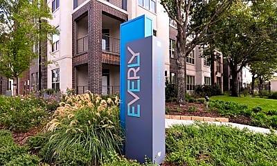 Community Signage, Everly Apartments, 2