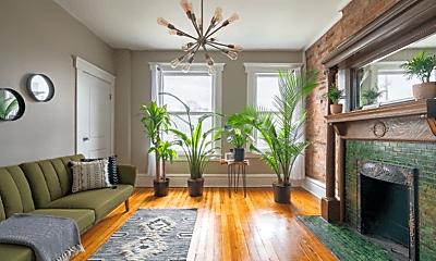 Living Room, 619 Dennison Ave, 0
