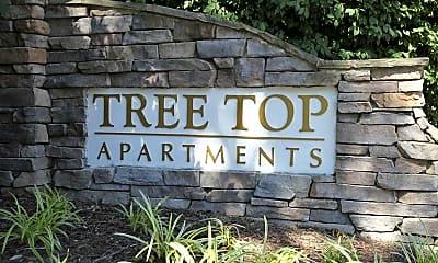 Community Signage, Tree Top Apartments, 2