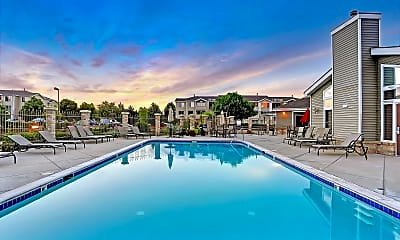 Pool, Pavilions at Silver Sage, 1
