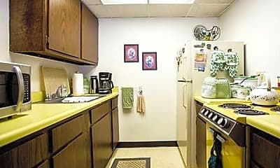 Kitchen, Donora Towers, 1