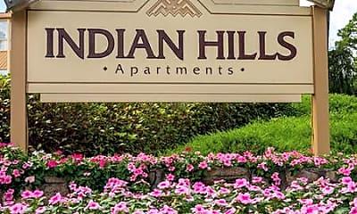 Community Signage, Indian Hills, 0