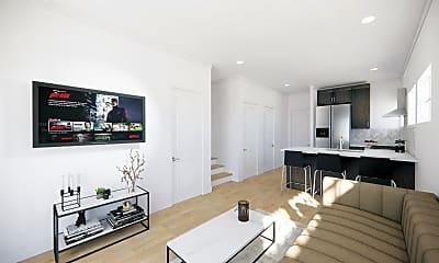 Living Room, 1182 W Adams Blvd, 1