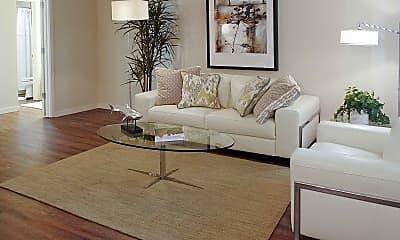 Living Room, River Walk Apartments, 1
