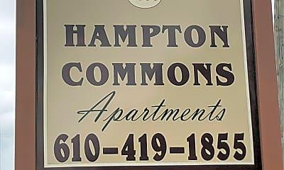 Hampton Commons Apartments, 1