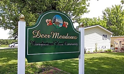 Community Signage, Deer Meadows, 2