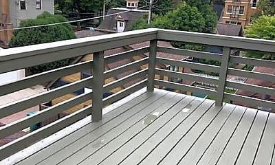 Patio / Deck, 134 S. Kenilworth Avenue, Apt. Unit 3, 2