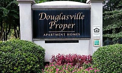 Douglasville Proper, 1