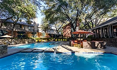 Pool, Cottonwood at Park Central, 1