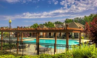 Pool, The Crest at Sugarloaf Apartment Homes, 2