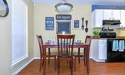 Dining Room, City Base Vista, 1