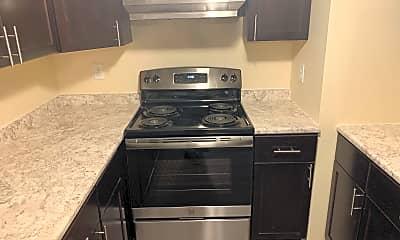 Kitchen, Pine Ridge Apartments, 2