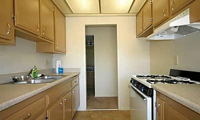 Kitchen, Los Arbolitos Apartments, 1
