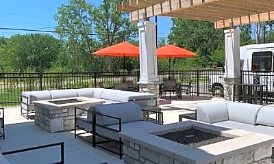 Outdoor Clubhouse, Owl Creek Apartments, 2