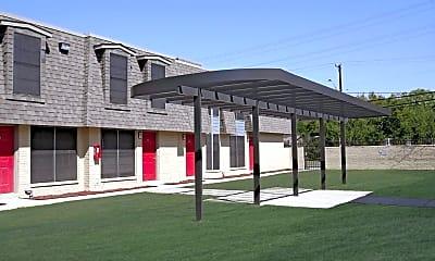 Building, Hamilton Place Apartments, 1