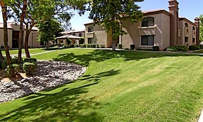 Courtyard, La Serena, 1