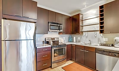 Kitchen, Blue Apartments, 0