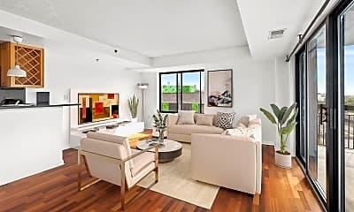 Living Room, 700 1st St 6W, 1