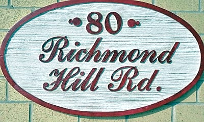 Community Signage, New Springville Apartments, 2