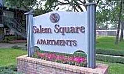 Community Signage, Salem Square, 2