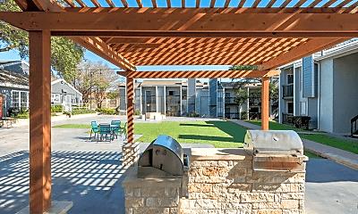 Pool, Grove at Northwest Hills Apartments, 2