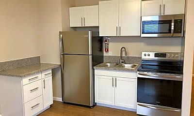 Kitchen, The New Medford Apartments, 1