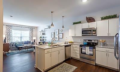 Kitchen, Village Heights Senior Apartments, 0