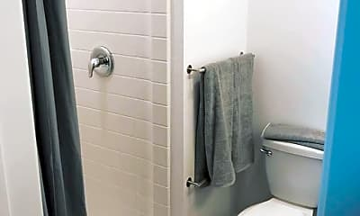 Bathroom, 605 Place Student Housing, 2