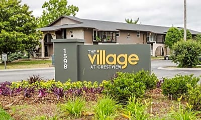 Community Signage, The Village at Crestview Apartments, 0
