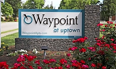 Community Signage, Uptown Apartments, 2