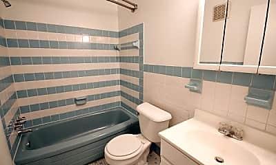 Bathroom, Meadowview Apartments, 1