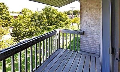 Patio / Deck, Country Air Estates, 1