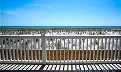 Patio / Deck, 1051 Oceanfront 8, 1