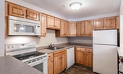 Kitchen, Highland House Apartments, 1