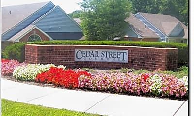 Community Signage, Cedar Street Commons-A Senior Living Community, 1