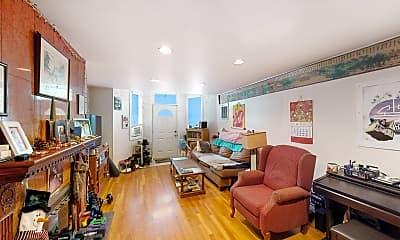 Living Room, 352 Tappan Street, Unit 1, 0
