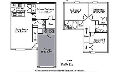 Building, 1503 Bodie Dr, 1
