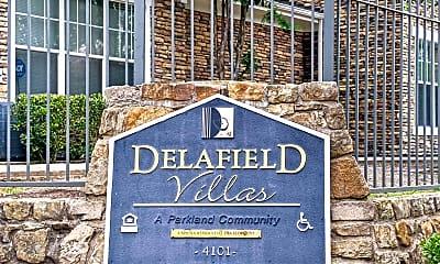 Community Signage, Delafield Villas, 2