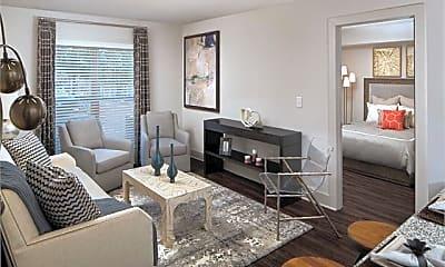 Living Room, 1500 Parkwood Cir SE Unit #1, 1